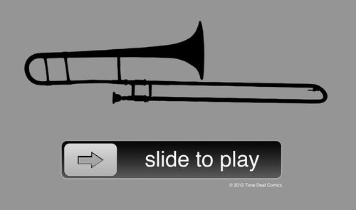 Trombone - Slide to play